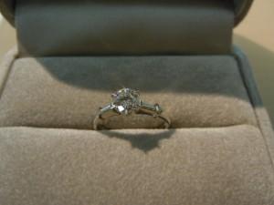 ダイヤのリングを買取しました!!