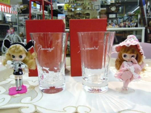 ★Baccarat/バカラのグラス買取りしました。