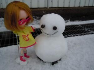 雪やこんこ~♪霰やこんこ~♪