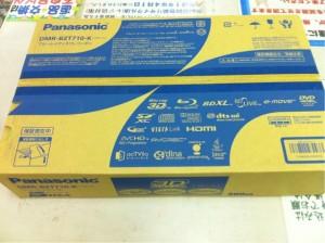 3Dブルーレイプレーヤー DMR-BZT710 入荷しました。