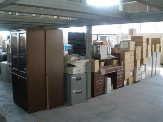 行政関連施設のオフィス家具、什器引上げ(高松市①)
