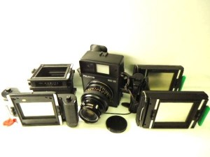 ポラロイドPOLAROID 600SE レンズMAMIYA 127mm F4.7 入荷!