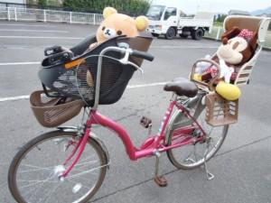 ◆Petit Maman DX/プチママン 子供乗せ自転車入荷しました~(*^^)v