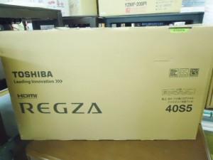 ★新品未開封★TOSHIBA/東芝 REGZA/レグザ40インチ液晶テレビ入荷しました~\(^o^)/