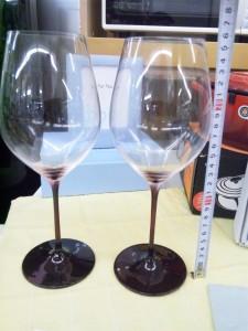 ちょっとオシャレなワイングラス