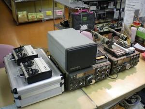 無線機とプロポ