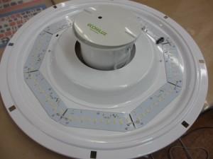 LEDライト-内部