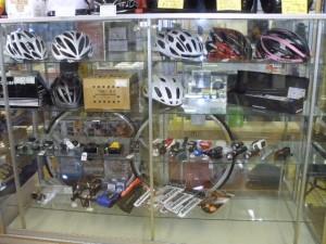 自転車部品コーナー