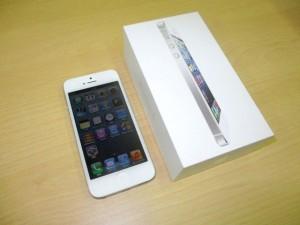 iPhone5 32GBを買取しました!