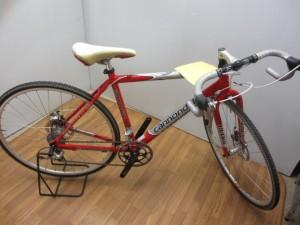 """新たに自転車が一台入荷!その名も""""キャノンデール""""!"""