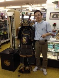 鎧甲冑を買取!これもcool JAPANです!
