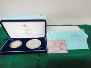 ■これは希少!! JAL 国産旅客機 YS-11 退役 公式 記念メダル