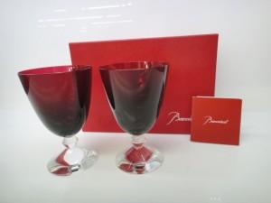 ◆素敵すぎる~Baccarat/バカラ ベガスモールグラス レッド