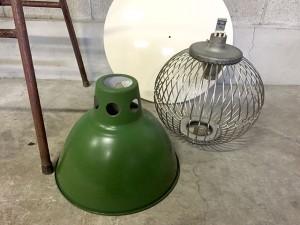 古い水銀灯