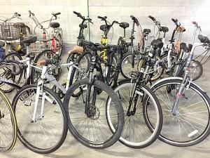 選手層が厚い?自転車の品揃え
