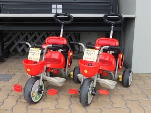 人気のidesアイデスカーゴ三輪車 レッド 2台あります!