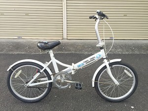 ONE PIECE トニートニー・チョッパーの折り畳み自転車