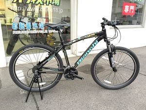 街乗りにも山遊びにも♪ビアンキのマウンテンバイク KUMA 26