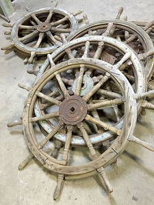 レトロ 操舵輪