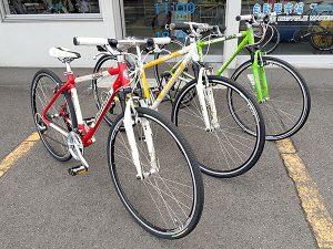 クロスバイク Bianchi Cielo 3色そろい踏み!