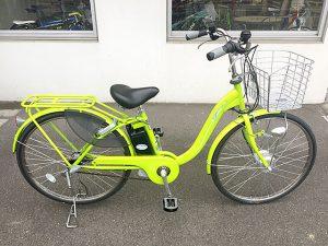 1回の充電で55km走行!イグニオ 電動ハイブリッド自転車