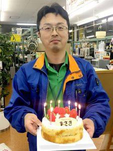 Happy Birthday マッキー