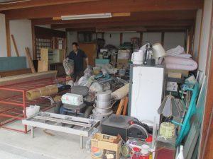 車庫 不用品回収