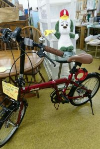 JEEP 折りたたみ自転車を買取りしました~…♪*゚